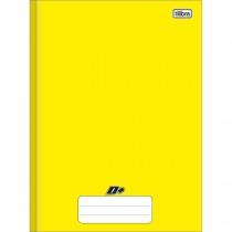 Imagem - Caderno Brochura Capa Dura Universitário D+ Amarelo 48 Folhas
