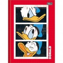 Imagem - Caderno Brochura Capa Dura Universitário Donald 80 Folhas - Sortido (Pacote com 5 unidades)