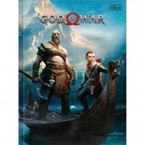 Imagem - Caderno Brochura Capa Dura Universitário God of War 96 Folhas - Sortido (Pacote com 5 unidades)