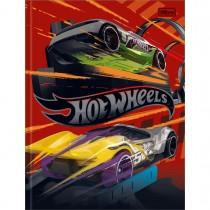 Imagem - Caderno Brochura Capa Dura Universitário Hot Wheels 48 Folhas (Pacote com 5 unidades) - Sortido