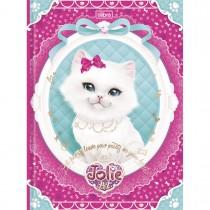 Imagem - Caderno Brochura Capa Dura Universitário Jolie Pet 96 Folhas - Sortido (Pacote com 5 unidades)