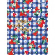 Imagem - Caderno Brochura Capa Dura Universitário Little Garden 80 Folhas (Pacote com 5 unidades) - Sortido
