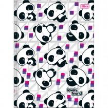 Imagem - Caderno Brochura Capa Dura Universitário Lovely Friend 48 Folhas - Sortido (Pacote com 10 unidades)