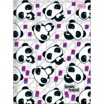 Imagem - Caderno Brochura Capa Dura Universitário Lovely Friend 96 Folhas - Sortido (Pacote com 5 unidades)