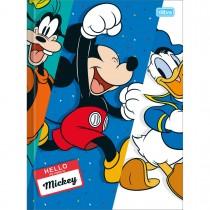Imagem - Caderno Brochura Capa Dura Universitário Mickey 96 Folhas (Pacote com 5 unidades) - Sortido
