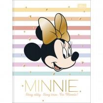 Imagem - Caderno Brochura Capa Dura Universitário Minnie 80 Folhas (Pacote com 5 unidades) - Sortido