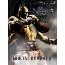 Imagem - Caderno Brochura Capa Dura Universitário Mortal Kombat 80 Folhas - Sortido (Pacote com 5 unidades)