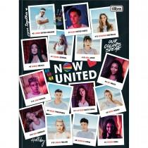 Imagem - Caderno Brochura Capa Dura Universitário Now United 80 Folhas - Fotografias - Sortido