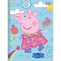 Imagem - Caderno Brochura Capa Dura Universitário Peppa Pig 40 Folhas (Pacote com 5 unidades) - Sortido