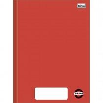 Imagem - Caderno Brochura Capa Dura Universitário Pepper Vermelho 80 Folhas