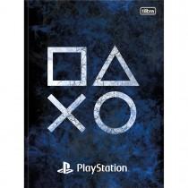Imagem - Caderno Brochura Capa Dura Universitário PlayStation 80 Folhas (Pacote com 5 unidades) - Sortido