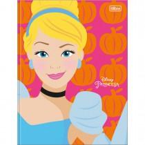 Imagem - Caderno Brochura Capa Dura Universitário Princesas 80 Folhas (Pacote com 5 unidades) - Sortido