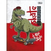 Imagem - Caderno Brochura Capa Dura Universitário Raptor 80 Folhas - Skateboard - Sortido