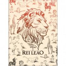 Imagem - Caderno Brochura Capa Dura Universitário Rei Leão 80 Folhas (Pacote com 5 unidades) - Sortido
