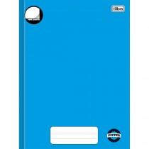 Imagem - Caderno Brochura Capa Dura Universitário sem Pauta Pepper Azul 80 Folhas
