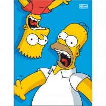 Imagem - Caderno Brochura Capa Dura Universitário Simpsons 80 Folhas (Pacote com 5 unidades) - Sortido