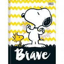 Imagem - Caderno Brochura Capa Dura Universitário Snoopy 96 Folhas - Sortido (Pacote com 5 unidades)