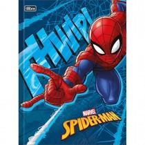 Imagem - Caderno Brochura Capa Dura Universitário Spider-Man 48 Folhas - Sortido (Pacote com 5 unidades)