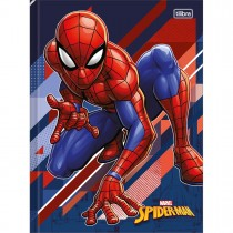 Imagem - Caderno Brochura Capa Dura Universitário Spider-Man 48 Folhas (Pacote com 5 unidades) - Sortido