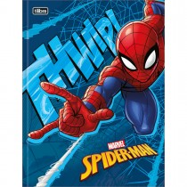 Imagem - Caderno Brochura Capa Dura Universitário Spider-Man 96 Folhas (Pacote com 5 unidades) - Sortido