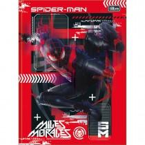Imagem - Caderno Brochura Capa Dura Universitário Spider Man Game 80 Folhas (Pacote com 5 unidades) - Sortido