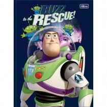 Imagem - Caderno Brochura Capa Dura Universitário Toy Story 80 Folhas (Pacote com 5 unidades) - Sortido