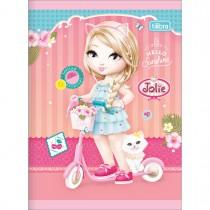 Imagem - Caderno Brochura Capa Flexível 1/4 Jolie 48 Folhas - Sortido (Pacote com 20 unidades)