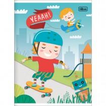 Imagem - Caderno Brochura Capa Flexível 1/4 Sapeca 48 Folhas - Sortido (Pacote com 20 unidades)