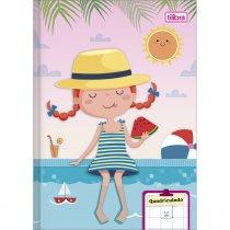Imagem - Caderno Brochura Capa Flexível Quadriculado 1x1cm Sapeca 40 Folhas - Sortido