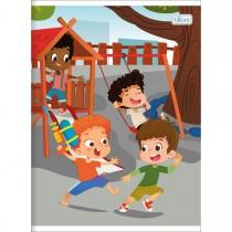 Imagem - Caderno Brochura Capa Flexível Universitário Sapeca 80 Folhas (Pacote com 10 unidades) - Sortido
