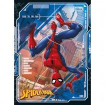 Imagem - Caderno Brochura Capa Flexível Universitário Spider-Man 60 Folhas - Sortido (Pacote com 10 unidades)