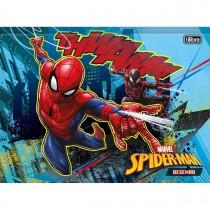 Imagem - Caderno Brochura Universitário Capa Dura Desenho Spider-Man 80 Folhas - Sortido (Pacote com 5 unidades)...