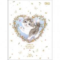 Imagem - Caderno Brochura Universitário Capa Dura Jolie Pet 80 Folhas (Pacote com 5 unidades) - Sortido