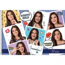 Imagem - Caderno Capa Dura Cartografia e Desenho Maisa 80 Folhas - Sortido (Pacote com 4 unidades)