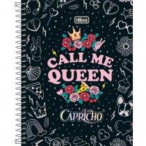 Imagem - Caderno Capa Dura Colegial Capricho 1 Matéria 80 Folhas