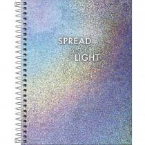 Imagem - Caderno Capa Dura Colegial Glow 1 Matéria 80 Folhas - Sortido