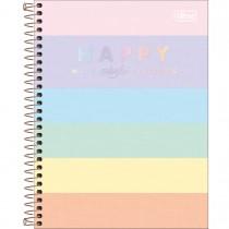 Imagem - Caderno Capa Dura Colegial Happy Colors 10 Matérias 160 Folhas