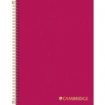 Imagem - Caderno Colegial Capa Dura Executivo Cambridge Pink - 80 Folhas