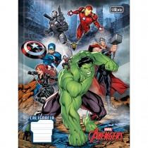 Imagem - Caderno de Caligrafia Brochura Capa Dura Avengers 40 Folhas (Pacote com 5 unidades) - Sortido