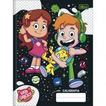 Imagem - Caderno de Caligrafia Brochura Capa Dura Gato Galactico 40 Folhas (Pacote com 5 unidades) - Sortido