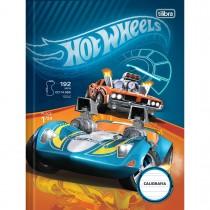 Imagem - Caderno de Caligrafia Brochura Capa Dura Hot Wheels 40 Folhas (Pacote com 5 unidades) - Sortido