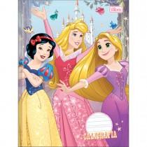 Imagem - Caderno de Caligrafia Brochura Capa Dura Princesas 40 Folhas (Pacote com 5 unidades) - Sortido
