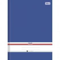 Imagem - Caderno de Caligrafia Brochura Capa Dura Universitário Académie Azul 96 Folhas