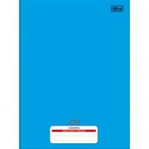 Imagem - Caderno de Caligrafia Brochura Capa Dura Universitário D+ Azul 96 Folhas