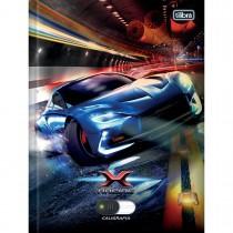 Imagem - Caderno de Caligrafia Brochura Capa Dura X-Racing 40 Folhas (Pacote com 5 unidades) - Sortido