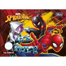 Imagem - Caderno de Caligrafia Horizontal Brochura Capa Dura Spider-Man 40 Folhas - Sortido (Pacote com 5 unidades)...