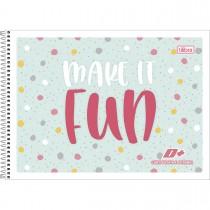Imagem - Caderno de Cartografia e Desenho com Seda Espiral Capa Flexível com Seda D+ 48 Folhas (Pacote com 10 unidades) - Sortido...