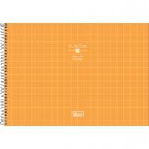 Imagem - Caderno de Cartografia e Desenho Espiral Capa Dura Académie Feminino 80 Folhas (Pacote com 4 unidades) - Sortido...