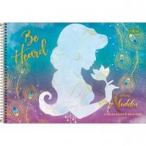 Imagem - Caderno de Cartografia e Desenho Espiral Capa Dura Aladdin 80 Folhas (Pacote com 4 unidades) - Sortido...