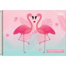 Imagem - Caderno de Cartografia e Desenho Espiral Capa Dura Aloha 80 Folhas (Pacote com 4 unidades) - Sortido